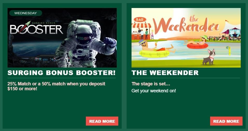 Casino-Mate Weekend Hero