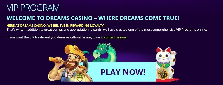 Dreams Casino VIP-Programm