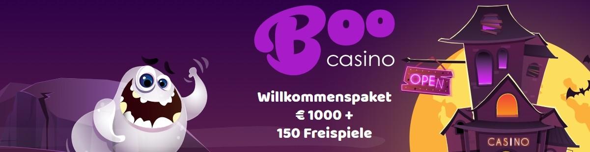 Boo Casino Willkommenspaket