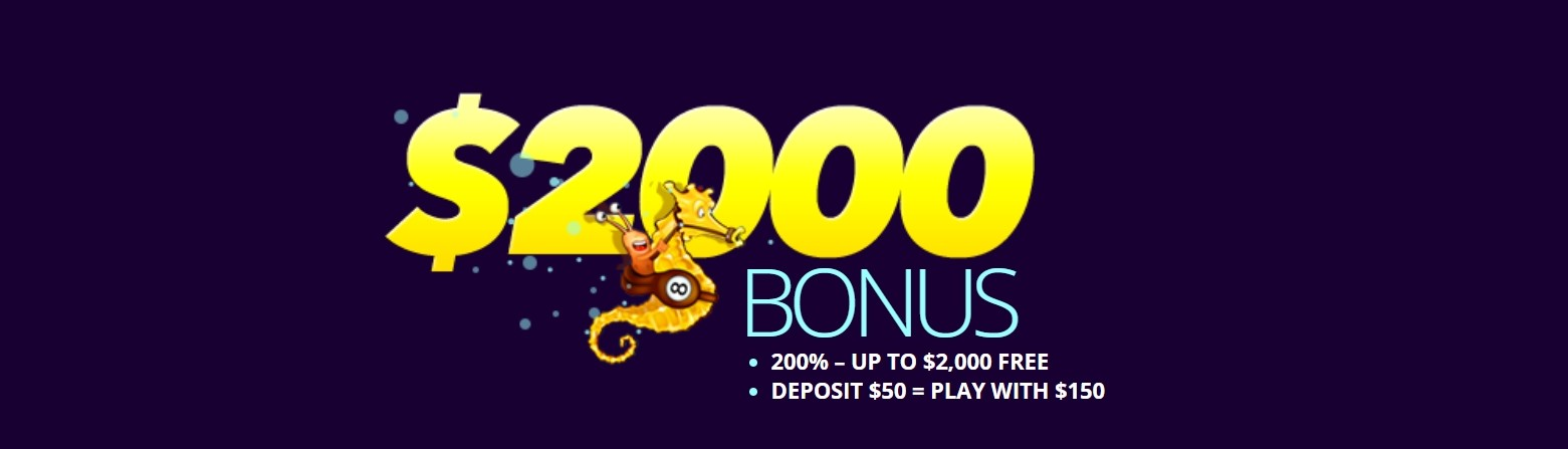 Dreams Casino 2.000 $ Bonus