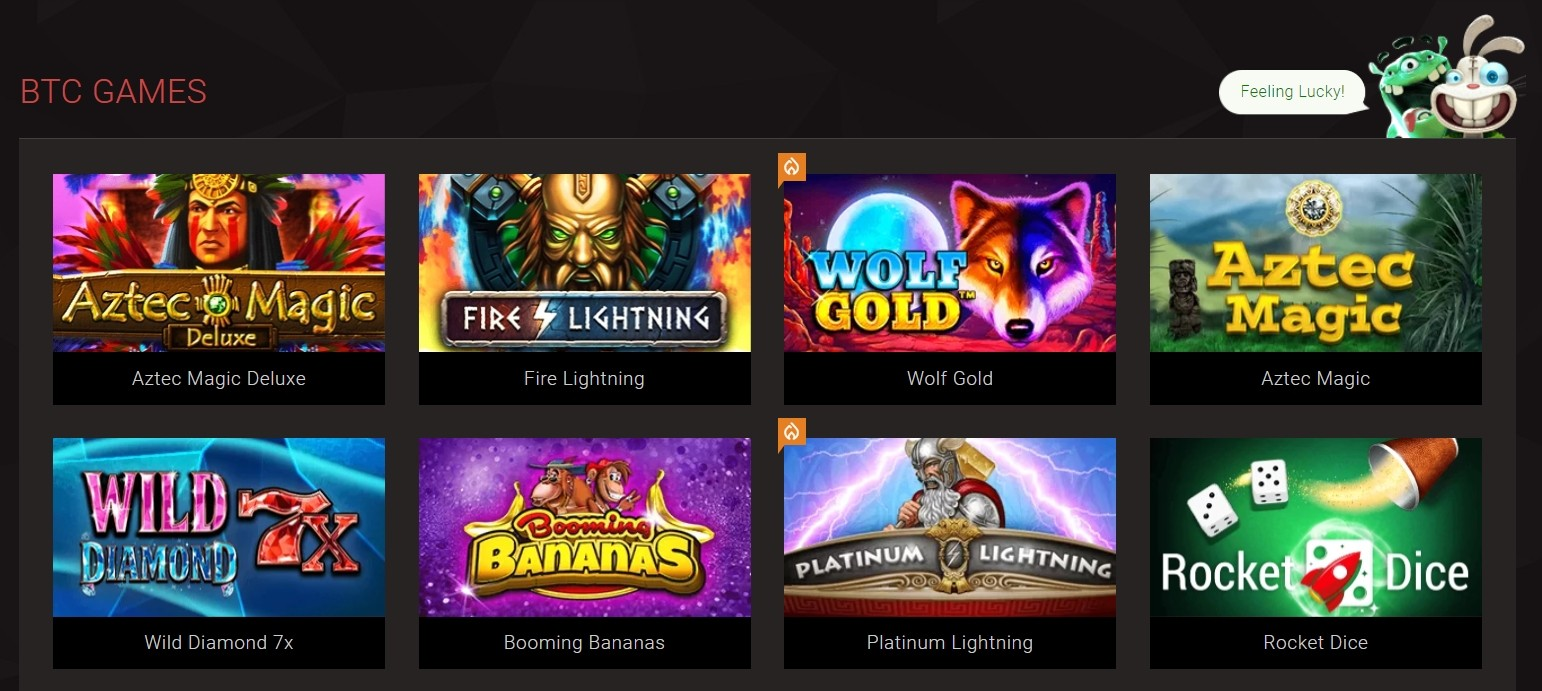 BitStarz Casino Video Slots