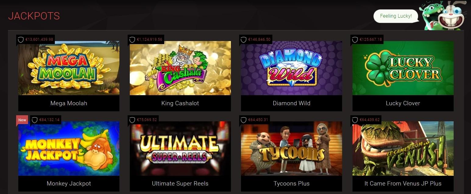 BitStarz Casino progressive Jackpots