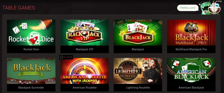 BitStarz Casino Tisch- und Kartenspiele