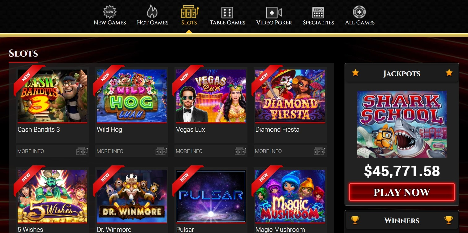 BoVegas Casino Video Slots
