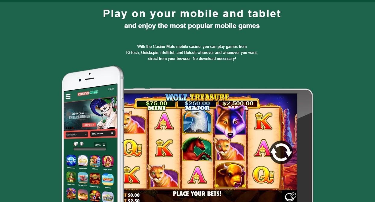 Casino-Mate App