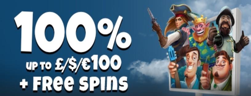 Conquer Casino 100% Bonus
