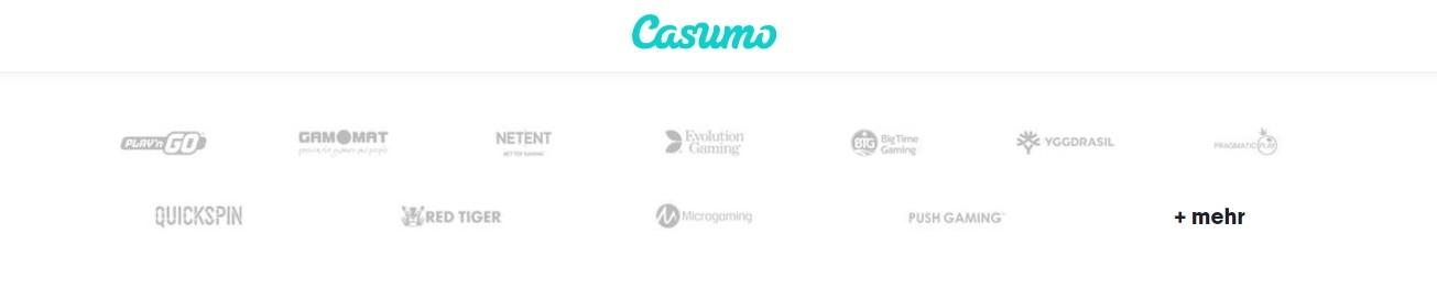 Casumo Casino Softwareanbieter