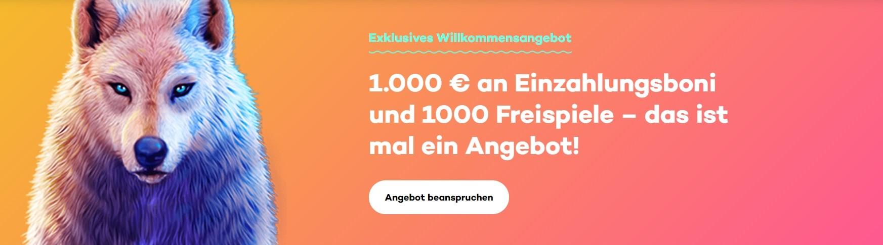 21.com Casino Willkommensbonus