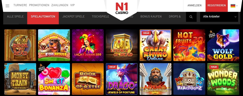 N1 Casino Video Slots